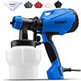 REXBETI Paint Sprayer, HVLP High Power Home Electric Spray Gun, Lightweight, Easy Spraying and...