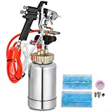 VEVOR Pressure Pot Tank 2L Pressure Pot Paint Sprayer 2 Quart Paint Pressure Pot 1.8mm Nozzle Paint...