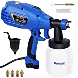 Hausse Paint Sprayer, HVLP High Power Home Electric Paint Gun, Lightweight, Easy to Clean, Ideal for...
