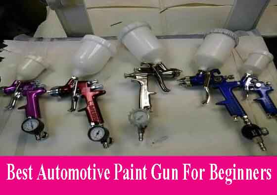 Automotive Paint Gun For Beginners