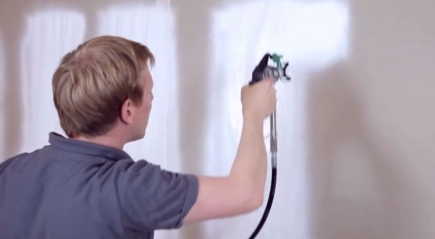 choose a paint sprayer for walls and ceilings